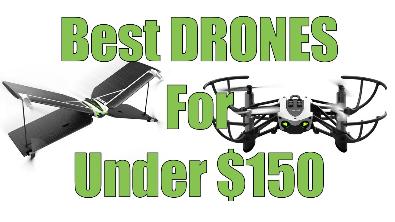 The Best Drones For Under $150? Parrot Mambo and Parrot