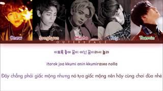 Han/rom/vietsub  Shinee - Lock You Down  Color Coded