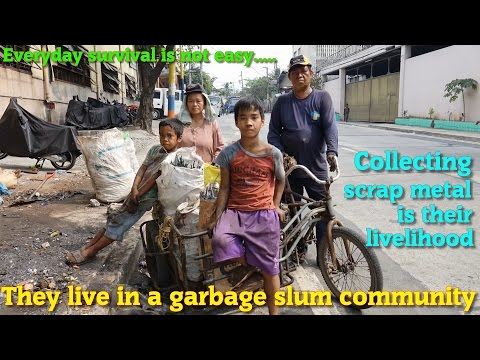 Traveling to the Philippines? See the Face of the Real Filipinos. Emma the Scrap Collector