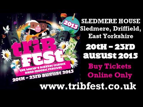 Tribfest Music Festival 2015, the world's biggest tribute band music festival.