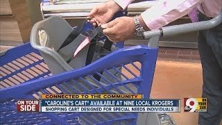 'Caroline's Cart' available at nine local Kroger stores
