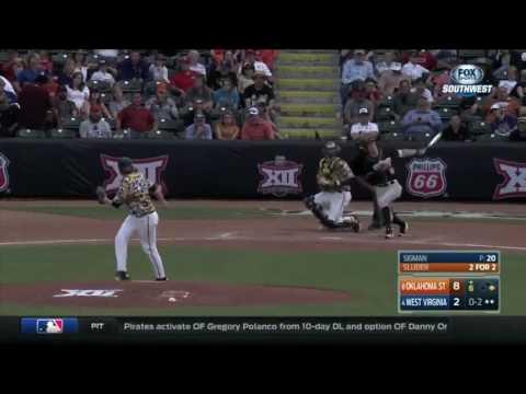 Baseball: Oklahoma State Highlights   5/25/17