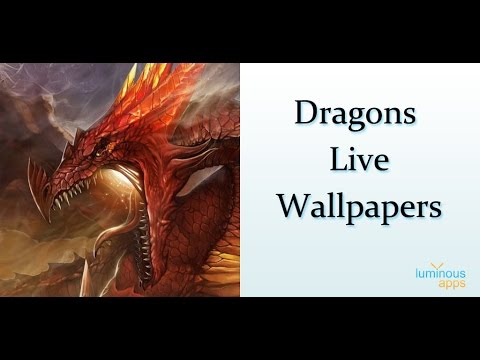 Dragons Live Wallpaper App