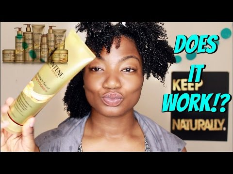 Natural Hair| Pantene Gold Series Review| Wash Day + Style
