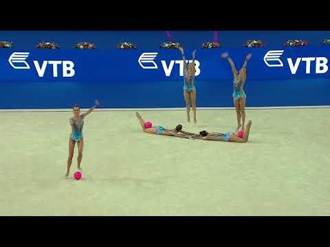 U.S. Group - 3 Balls/2 Ropes - 2017 World Rhythmic Gymnastics Championships - Group Competition