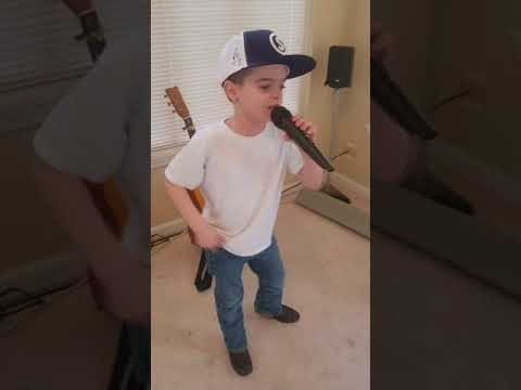 Chillin it by Cole Swindell cover by my 7 year old son