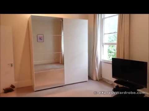 [Full Download] Ikea Pax Mehamn White With Auli Mirror