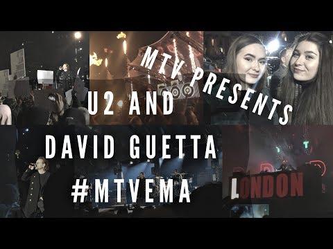 MTV PRESENTS: U2 AND DAVID GUETTA | Trafalgar Square, 11th November 2017 #MTVEMA