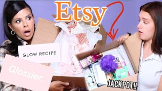 WE SPENT $200 ON ETSY LUXE MYSTERY BOXES... omg we hit the jackpot!!!