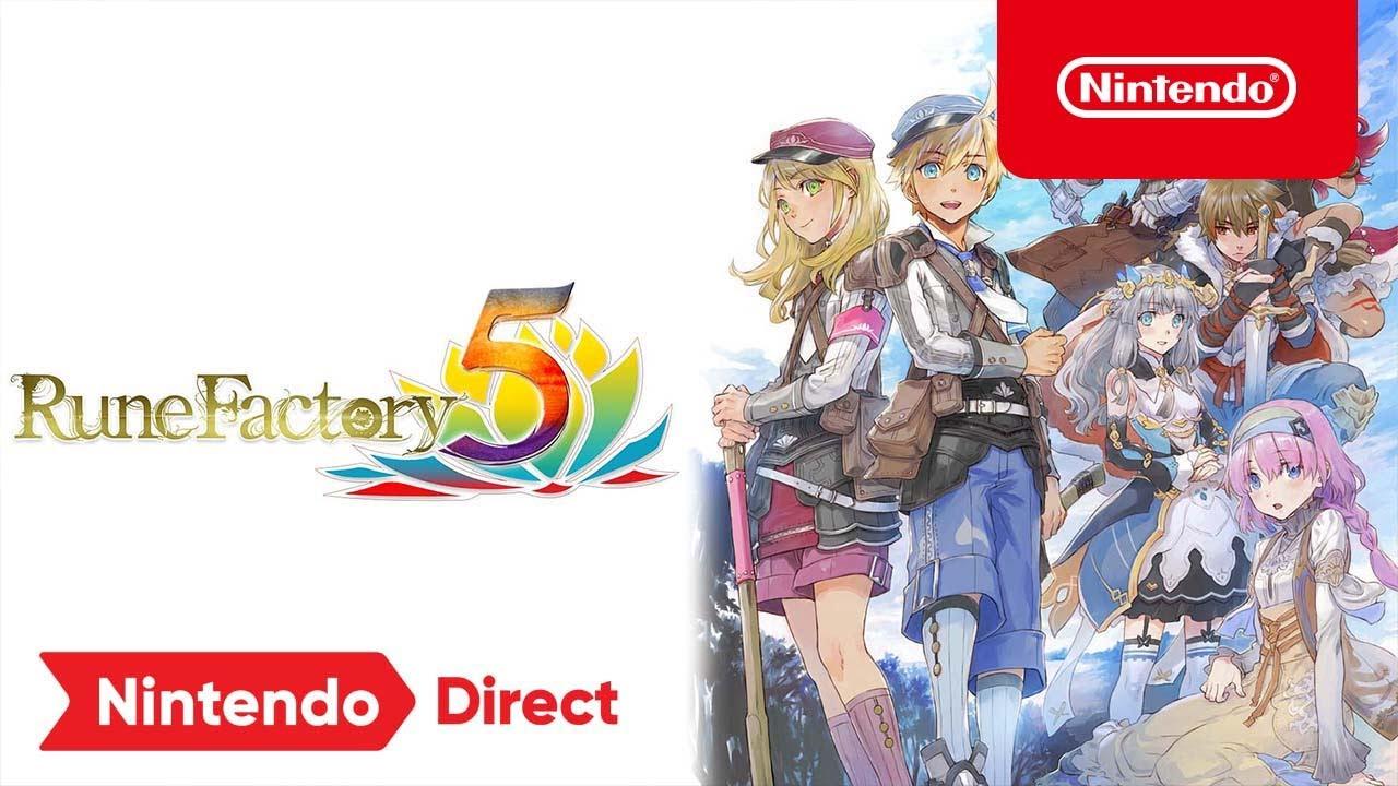 Download Rune Factory 5 – Nintendo Direct 9.23.21 Trailer – Nintendo Switch