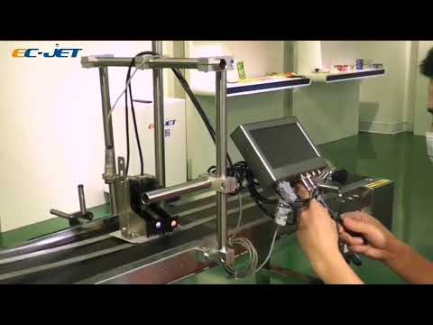 EC JET High resolution printer installation guide Photocell Encoder cable Connection