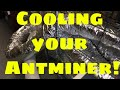 Antminer cooling -DIY How to cool your Antminer S9 without antminer cooler in Florida-where its hot!