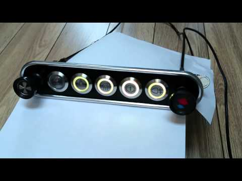 Classic Mini Switch Panel Or Kit Car Switch Panel