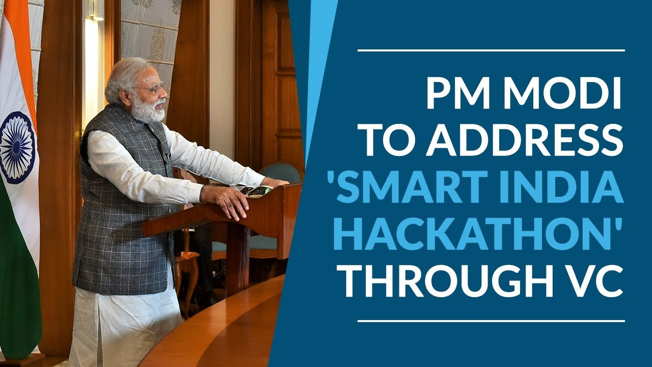 Live interaction with PM Narendra Modi after Smart India Hackathon