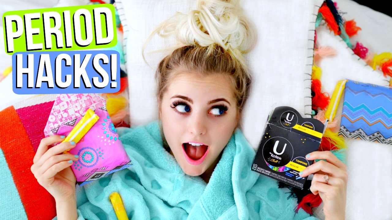Period LIFE HACKS! Make Your Period EASIER! | Aspyn Ovard - YouTube