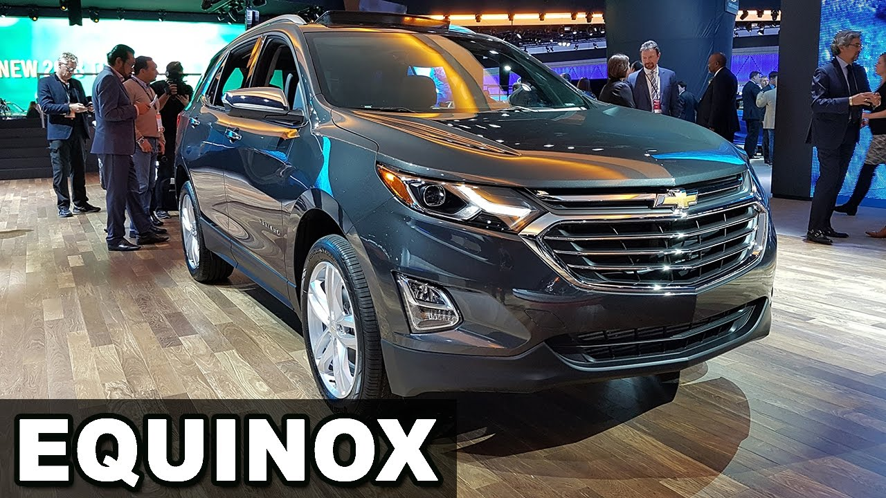 Chevrolet Equinox 2018, Tracker 2017 e Traverse no Salão ...