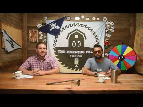 The Morning Mill - Episode 18 - Inlaying Bow Ties and Coffee Caddy DIY