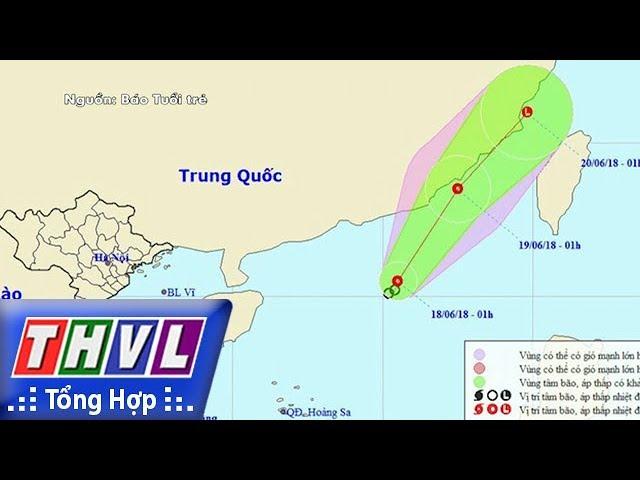 THVL | Người đưa tin 24G: Áp thấp nhiệt đới gây mưa dông trên cả nước