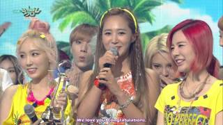 [ENG SUB] 150717 SNSD Girls' Generation 'PARTY' Win (100th win) - Stafaband