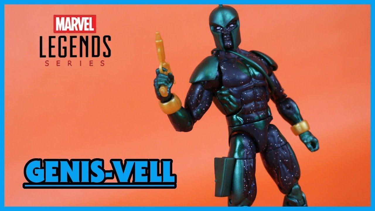 """Kree Sentry BAF Wave Marvel Legends Captain Marvel Genis-Vell 6/"""" Action Figure"""