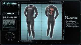 Orca Full Sleeve 3,8 Enduro Wetsuit - www.simplyswim.com