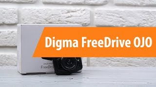 Распаковка видеорегистратора Digma FreeDrive OJO / Unboxing Digma FreeDrive OJO