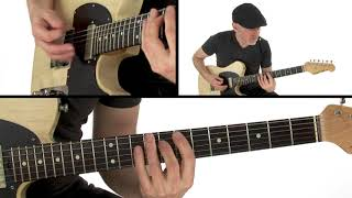 Honey Hush (Albert Collins) Guitar Lesson - Performance - Jeff McErlain