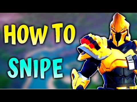 HOW TO SNIPE | Practice QUICKSCOPES In 2 EASY Steps - Fortnite Tips & Tricks