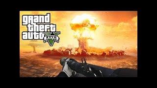 """GTA 5 """"Мод на ядерный взрыв!"""""""