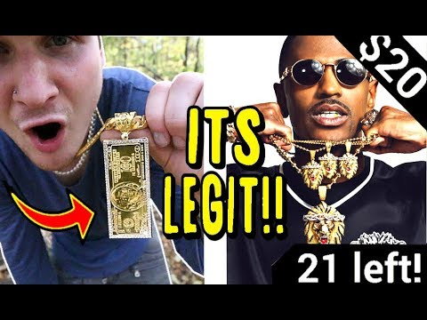 BUYING GOLD CHAINS (BLING) OFF INSTAGRAM ADS!! ARE THEY LEGIT?!