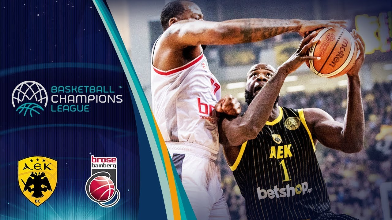 AEK v Brose Bamberg - Full Game - Quarter-Final - Basketball Champions League 2018
