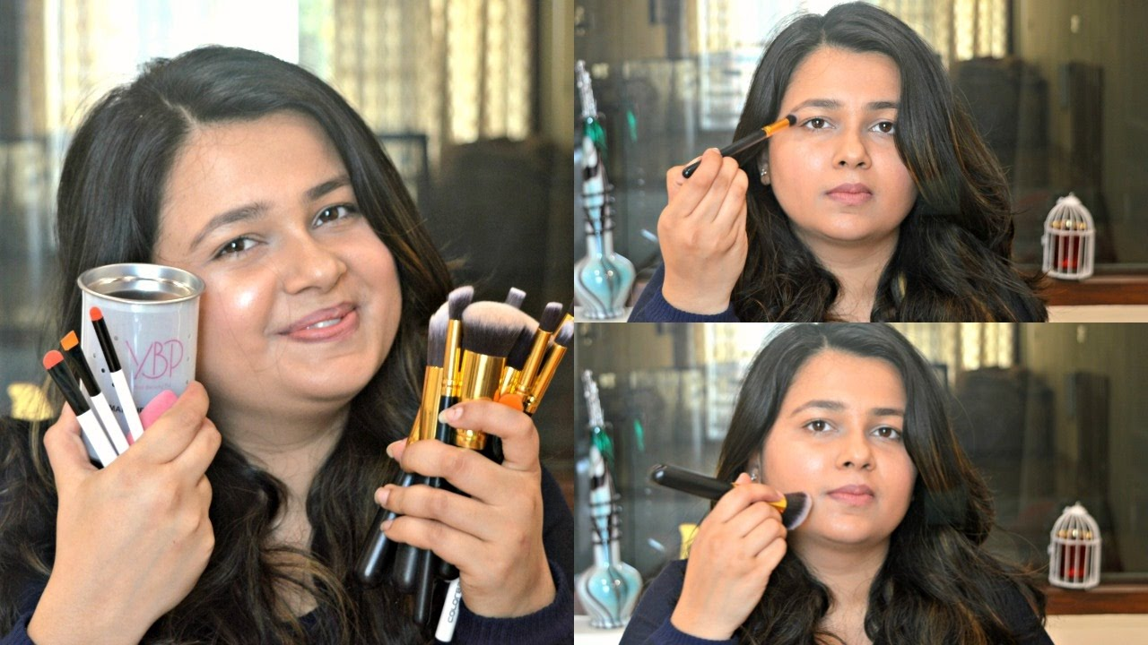 Best Affordable Makeup Brushes Set In India - Best Brush 2017