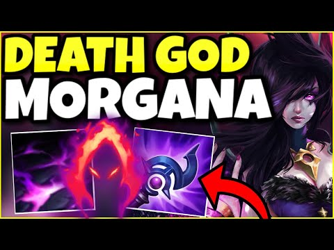 (HIGH ELO) THIS BUILD TURNS MORGANA SUPPORT INTO A DEATH GOD! – League of Legends
