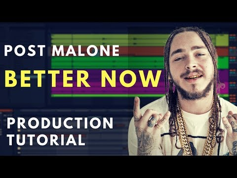Making The Beat For Post Malone - Better Now