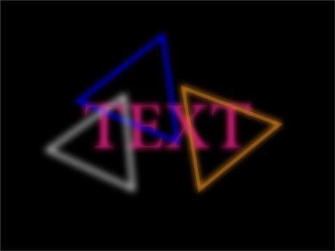Glowing texts and shapes Adobe Illustrator Tutorial thumbnail