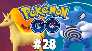Pokemon GO Part 28 EVOLUTIONS! FINALLY! Gameplay Walkthrough