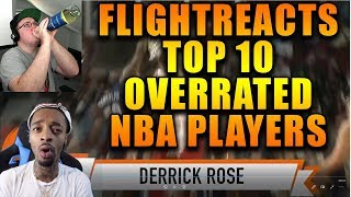 Reacting To FlightReacts Top 10 Overrated NBA Players