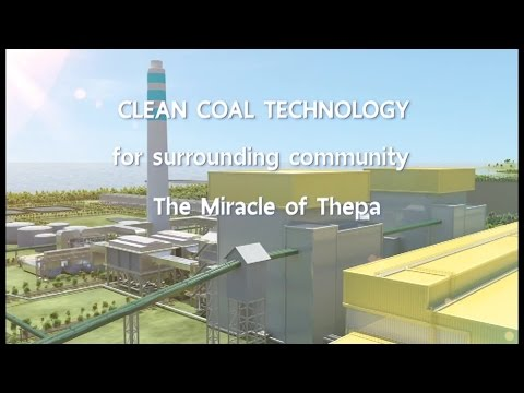 Clean Coal Technology Power Plant in Thepa