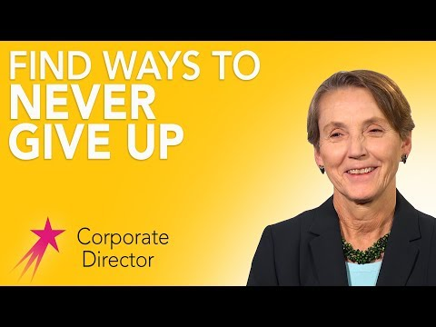 Corporate Director: Advice - Tee Taggart Career Girls Role Model
