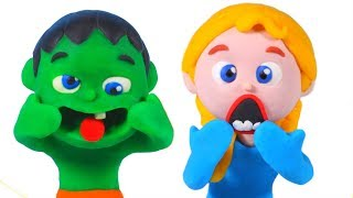 Kids Doing Funny Faces ❤ Cartoons For Kids
