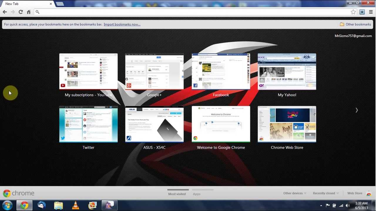 Revert Chromes New Tab Page Back To The Old Style
