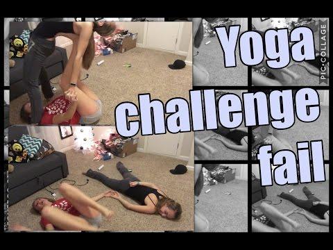 Yoga Challenge Fail