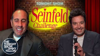 The Tonight Show Seinfeld Challenge