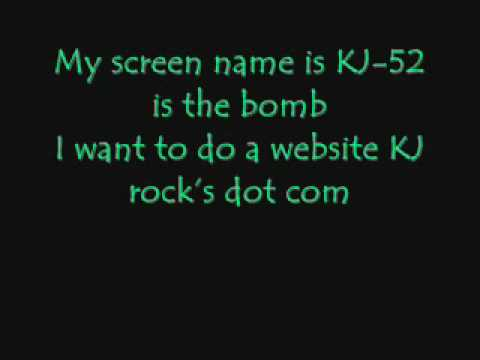 Fanmail by KJ-52 lyrics