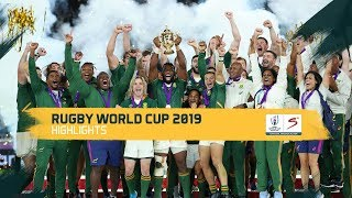 Rugby World Cup | Final | England v South Africa | Highlights