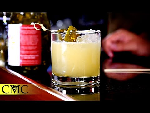 How To Make A Spicy Margarita / Serrano, Candied Jalapeño and Good Times!