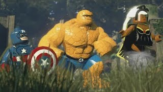LEGO: Marvel Superheroes - Chapter 12: Rapturous Rise (Captain America