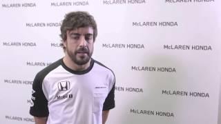 Formula 1 2015 — Fernando Alonso, McLaren-Honda Driver [10/02/2015]