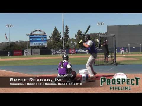 Bryce Reagan Prospect Video, Souhegan Coop High School Class of 2018