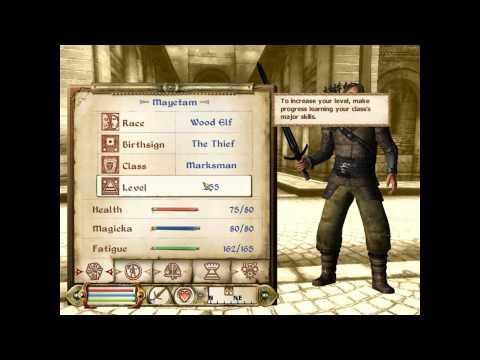 Oblivion: Console Commands/Codes